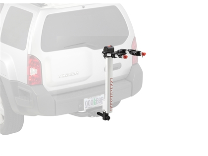 Yakima 8002437 HighLite 3-Bike Hitch Rack, White