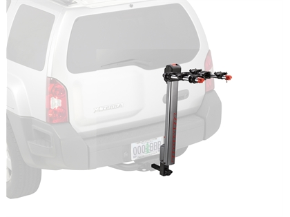 Yakima 8002439 HighLite 3-Bike Hitch Rack, Silver